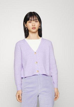 PCELLEN CARDIGAN - Cardigan - lavender