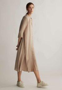 OYSHO - Shirt dress - beige - 1