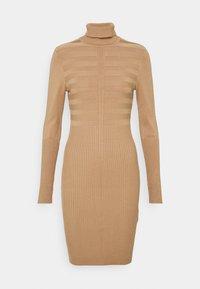 Morgan - Jumper dress - camel - 0