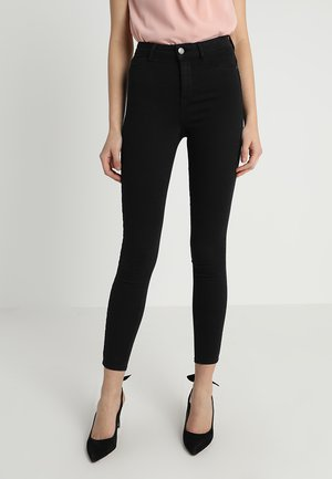 MOLLY HIGHWAIST  - Skinny-Farkut - black