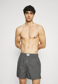 Levi's® - MEN CHECK 2 PACK - Boxer shorts - red - 2