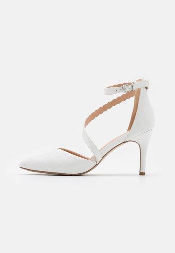 CINDERS - Klassiske pumps - white