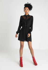 Even&Odd - A-snit nederdel/ A-formede nederdele - black - 1