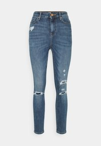 ONLGOSH LIFE - Jeans Skinny Fit - medium blue denim