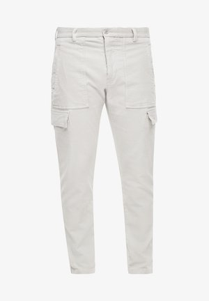 REGULAR FIT - Cargo trousers - offwhite