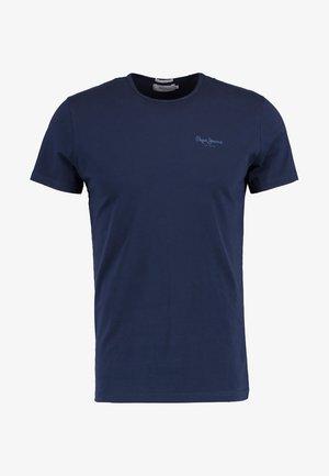 ORIGINAL BASIC - Camiseta básica - azul marino