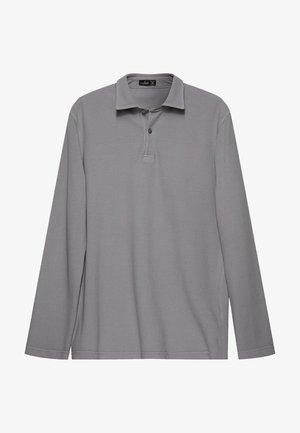 Polo shirt - grau blau
