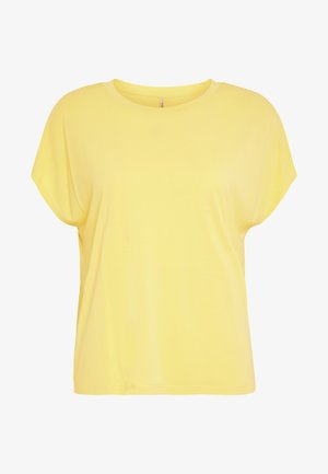 ONLFREE LIFE O-NECK - T-shirt basique - pineapple slice
