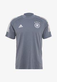 adidas Performance - DEUTSCHLAND DFB TEE - Print T-shirt - onix - 6