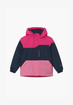 NKFSNOW03 JACKET BLOCK - Winter jacket - fuchsia