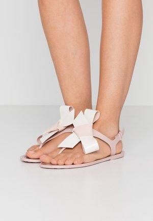 Pool shoes - nude/milk