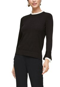 s.Oliver BLACK LABEL - Jumper - black - 0