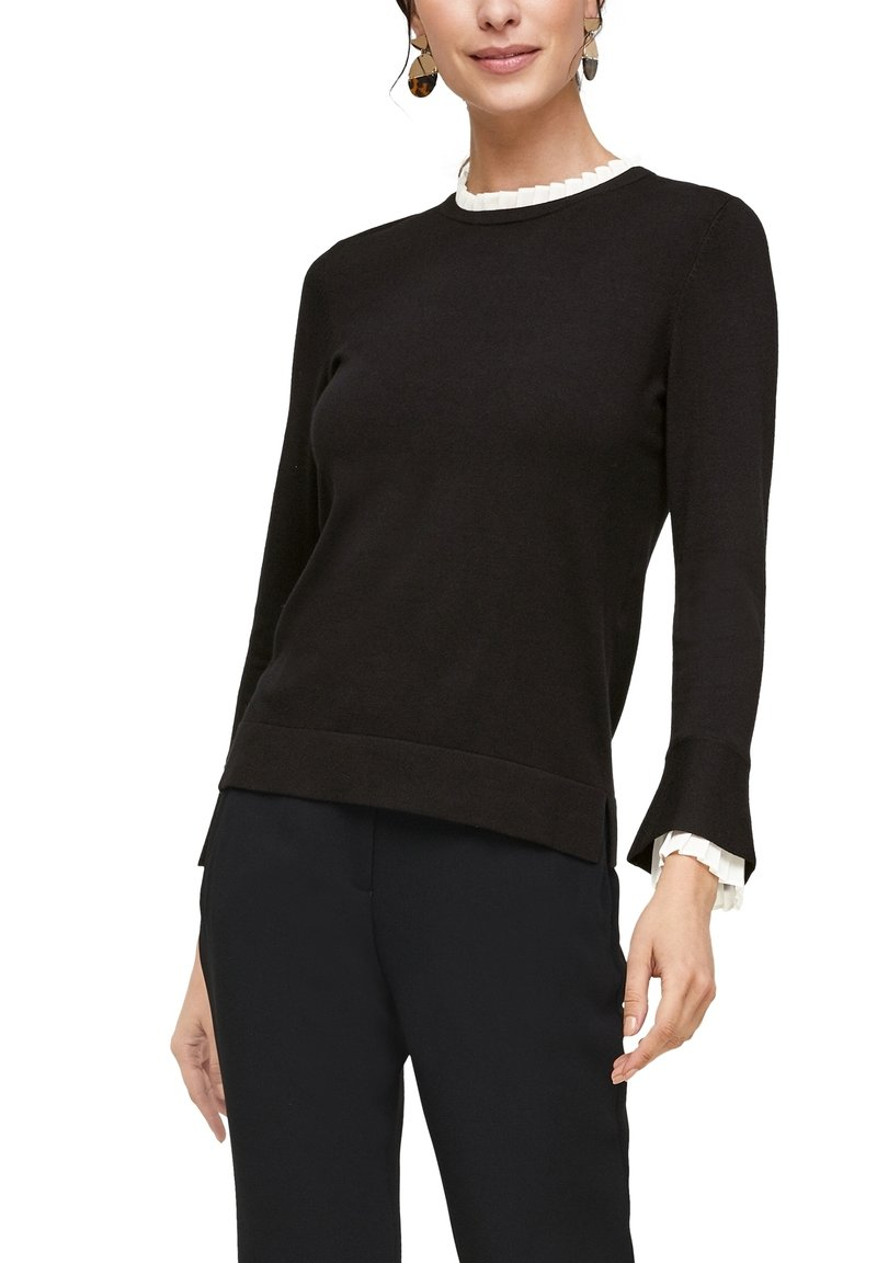 s.Oliver BLACK LABEL - Jumper - black