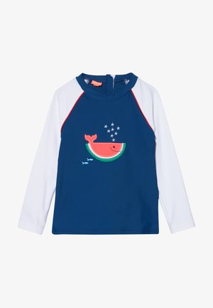 WATERMELON WHALE RASH  - Vesta do vody - navy
