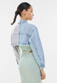 Bershka - Denim jacket - light-blue denim - 2