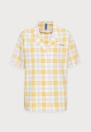 ELISSAR SHIRT - Button-down blouse - yellow