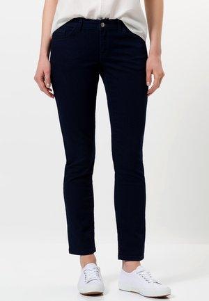 Slim fit jeans - dark blue rinse washed