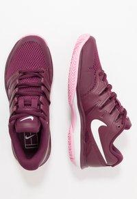 Nike Performance - AIR ZOOM PRESTIGE - Multicourt tennis shoes - bordeaux/white/pink rise - 1