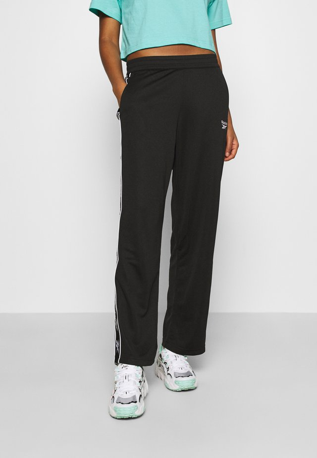 VECTOR TAPE PANTS - Tracksuit bottoms - black