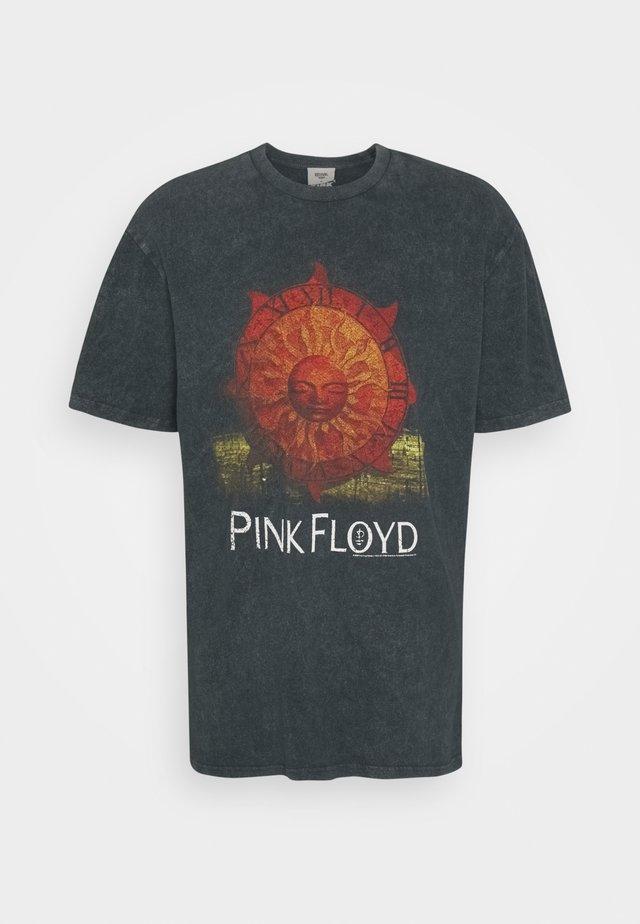 PINK FLOYD SUN TEE UNISEX - Camiseta estampada - black