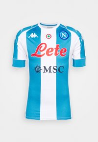 SSC NAPOLI KOMBAT PRO 2021 SLIM FIT - Club wear - white/azure