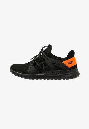 MATERA - Sneaker low - black/orange