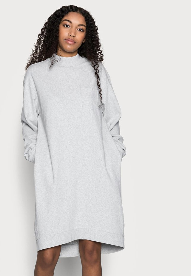 DRESS - Korte jurk - light heather grey