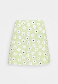 Glamorous - CARE NOTCH SKIRTS - Mini skirt - olive green - 4