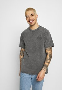 Converse - FASHION CUT AND SEW TEE - Print T-shirt - black - 0