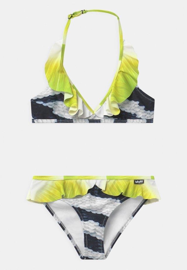 NELE SET - Bikini - black/white