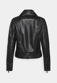 MAX&Co. - BAMBU - Leather jacket - black - 1