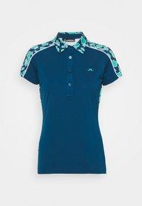 CICCA PRINT GOLF - Sports shirt - poseidon