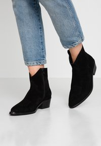 Ca'Shott - Cowboy/biker ankle boot - black - 0