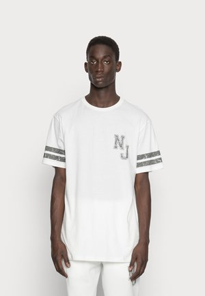 HERITAGE COLLEGE TEE - T-shirt print - white