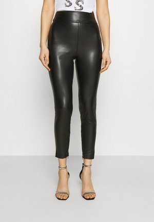 PRISCILLA  - Leggings - Trousers - jet black