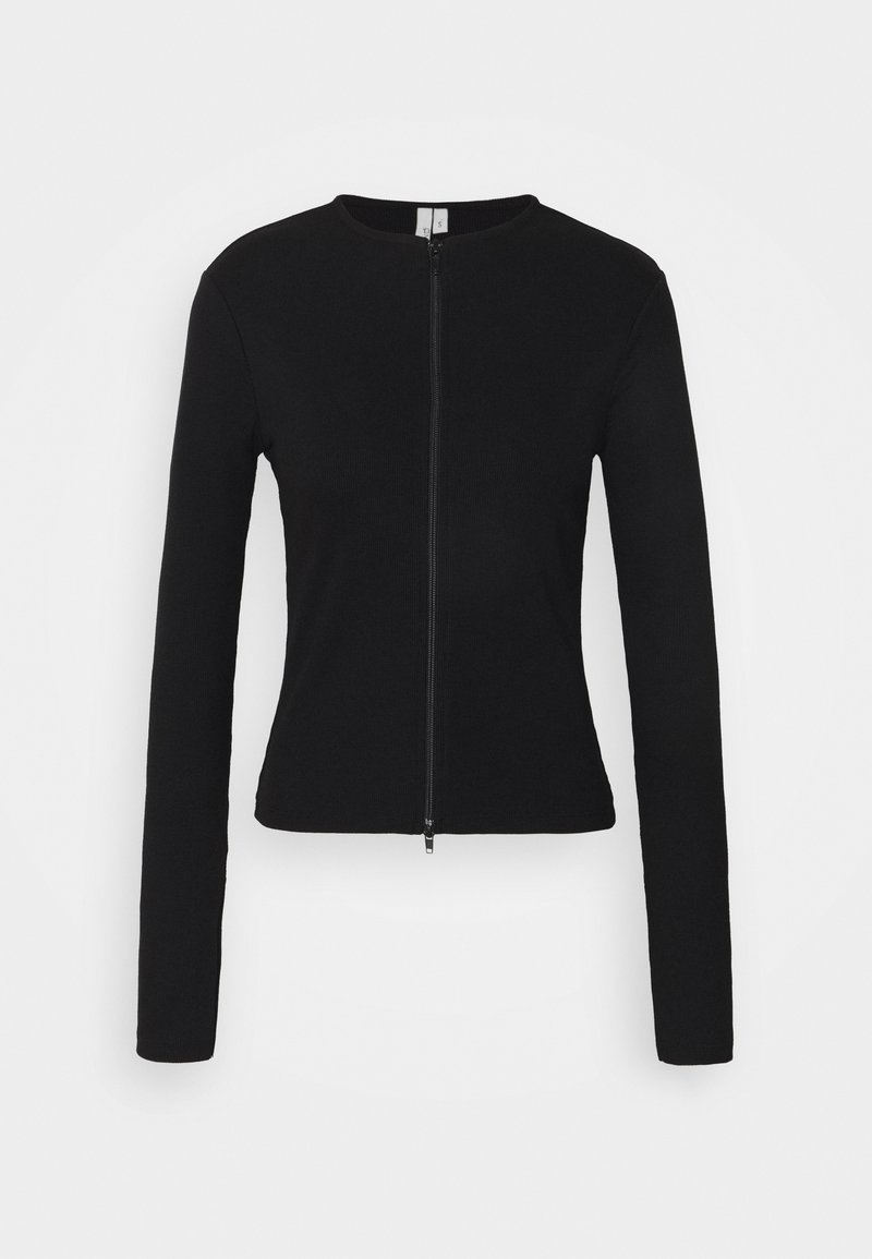 Nly by Nelly - ZIPPED UP  - Gilet - black