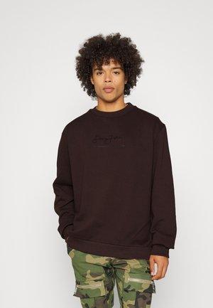 CLASSIC LOGO ESSENTIAL CREW - Sweater - dark brown