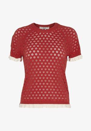 SHORT SLEEVE - T-shirt med print - lipstick