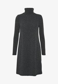 Even&Odd - Jumper dress - mottled grey - 4