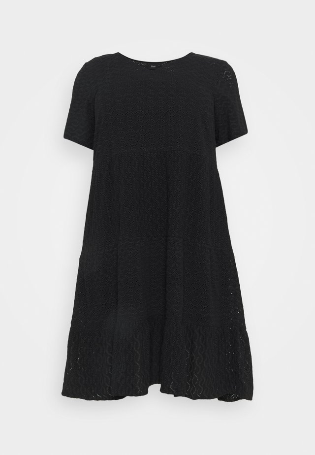 MANNE KNEE DRESS - Korte jurk - black