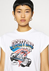 Replay - Print T-shirt - white - 4