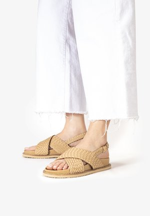 Sandals - natural nat