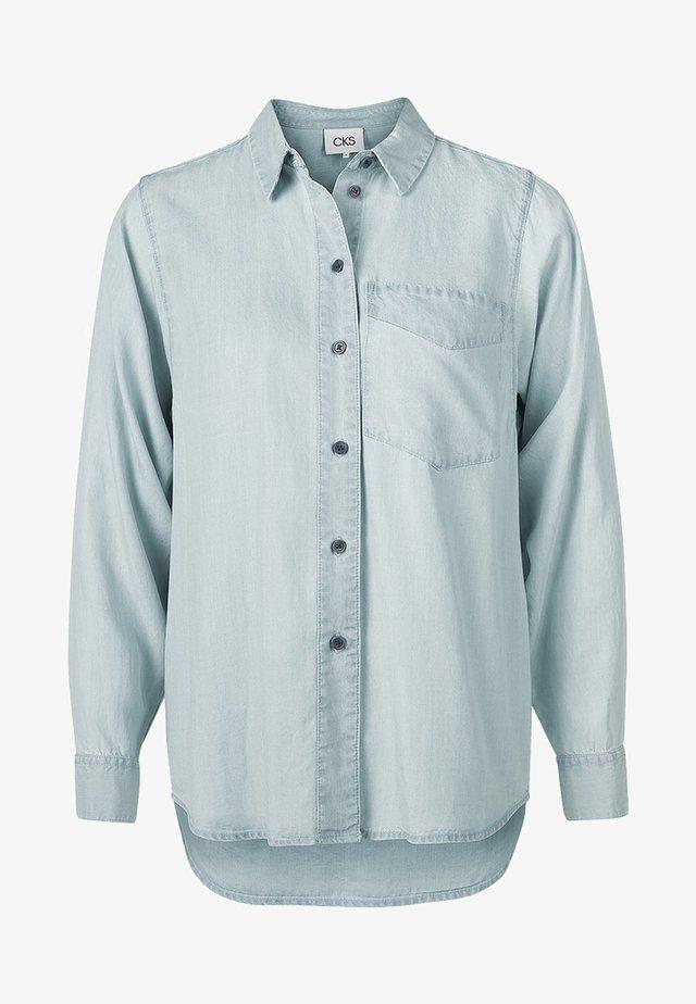 RAE - Button-down blouse - light blue