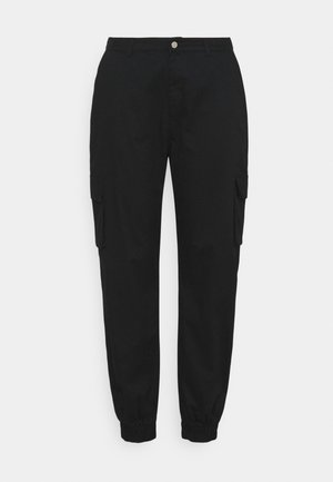 PLAIN TROUSER - Trousers - black