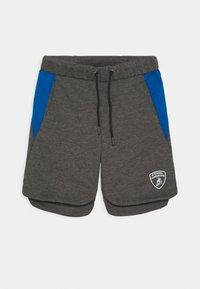 Automobili Lamborghini Kidswear - WITH CONTRAST INSERTS - Shorts - grey estoque - 0