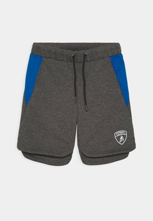 WITH CONTRAST INSERTS - Shorts - grey estoque