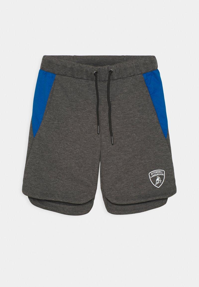 Automobili Lamborghini Kidswear - WITH CONTRAST INSERTS - Shorts - grey estoque