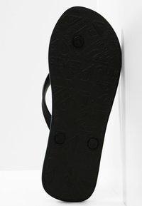 Quiksilver - MOLOKAI SEASONS  - Pool shoes - black/blue/black - 4