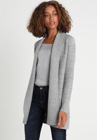 Zalando Essentials - Cardigan - mid grey melange - 0