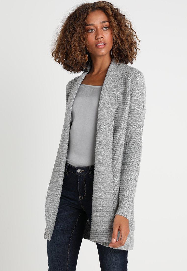 Zalando Essentials - Cardigan - mid grey melange
